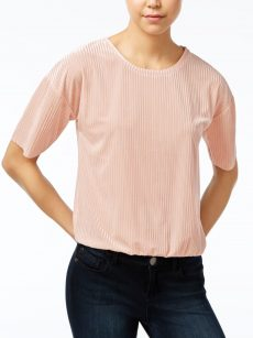 One Hart Juniors Size XS Light Pink Blouse Top