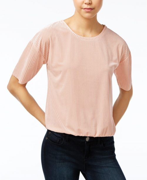 One Hart Juniors Size XS Light Pink Blouse Top