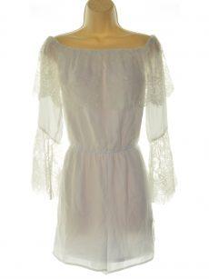 Thalia Sodi Women Size Small S White Romper Jumpsuit