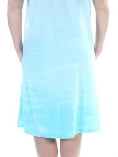 Style & Co. Women Size Large L Light Blue Shift Dress