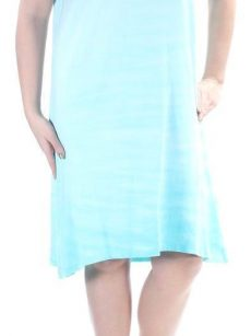 Style & Co. Women Size Small S Light Blue Shift Dress