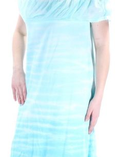Style & Co. Women Size Medium M Light Blue Shift Dress
