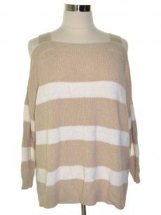 Style & Co. Women Size XL Light Beige Pullover Sweater