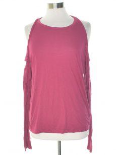 Chelsea Sky Women Size XL Sangria Knit Top