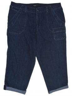 Lee Platinum Label Women Size 14 Blue Cropped Jeans