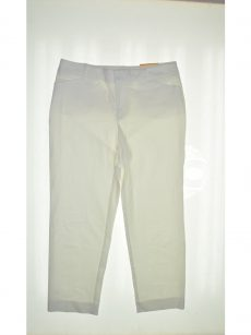 Charter Club Women Size 4 White Slim-Leg Pants