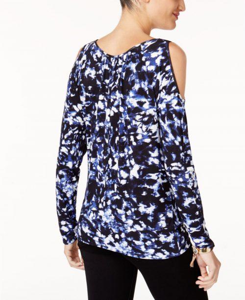 Thalia Sodi Women Size XS Black Blouse Top