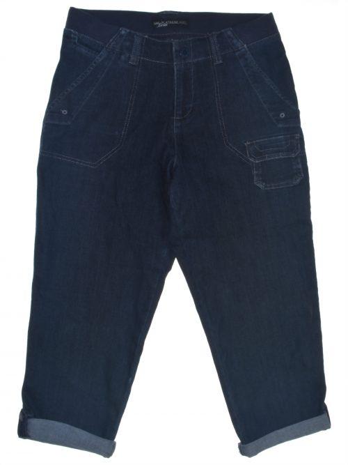 Lee Platinum Label Women Size 4 Blue Capri Jeans