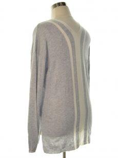 Fate Women Size Medium M Grey Pullover Sweater