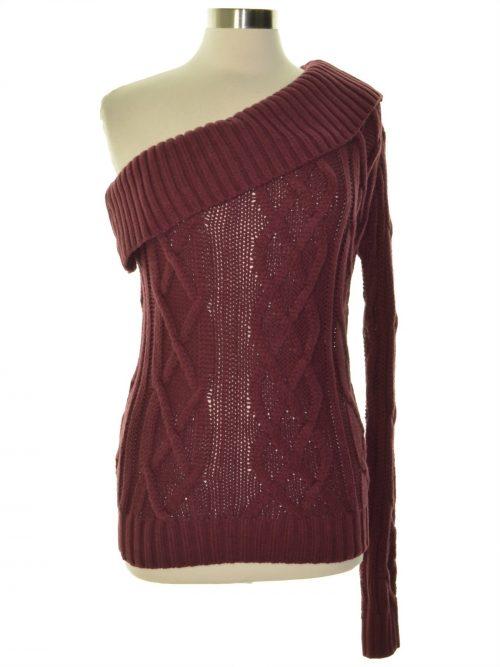 Endless Rose Women Size Medium M Wine Pullover Sweater