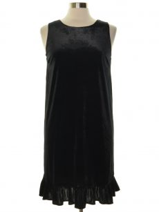 Movint Women Size Medium M Black Shift Dress