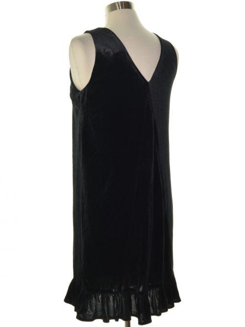 Movint Women Size Medium M Black Shift Dress