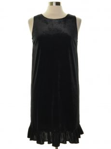 Movint Women Size Small S Black Shift Dress