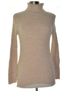 Metric Knits Women Size Large L Peach Pullover Sweater