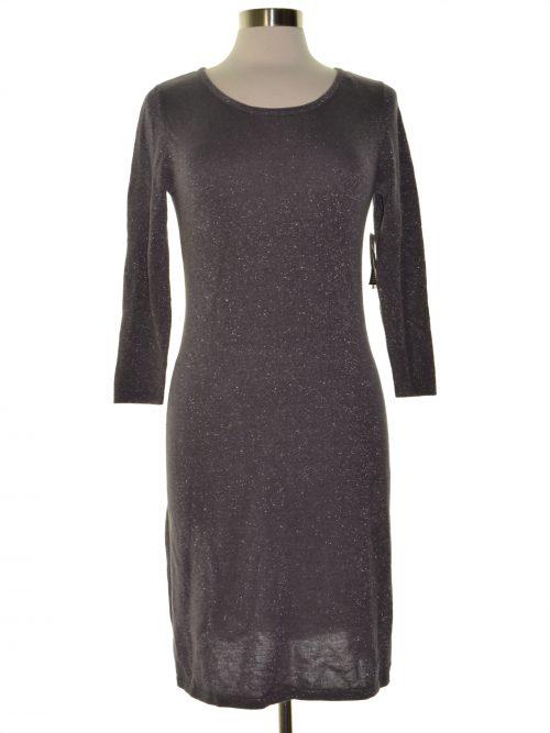 Nine West Women Size Small S Gray Sweaterdress Dress