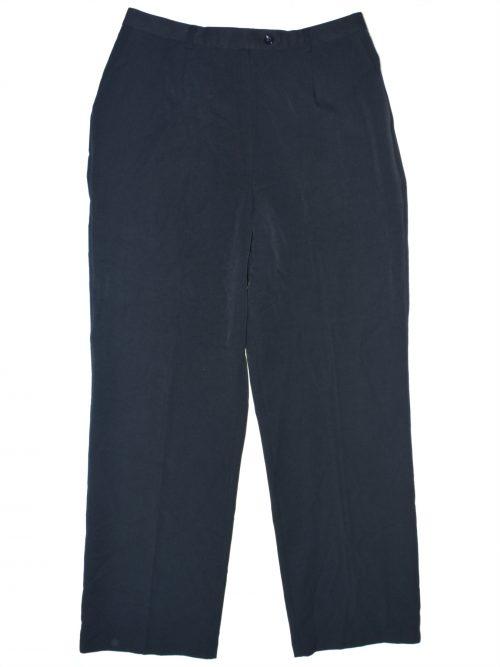 Unbranded Women Size Missing Dark Blue Straight-Leg Pants