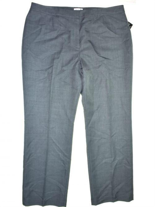 Le Suit Women Size 18 Grey Trousers Pants