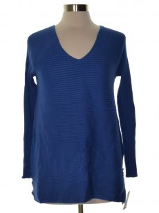 Thalia Sodi Women Size Medium M Blue Sweatshirt Sweater