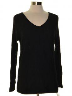 Thalia Sodi Women Size Large L Black Sweatshirt Sweater