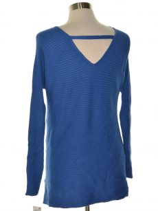 Thalia Sodi Women Size Medium M Blue Sweatshirt Sweater