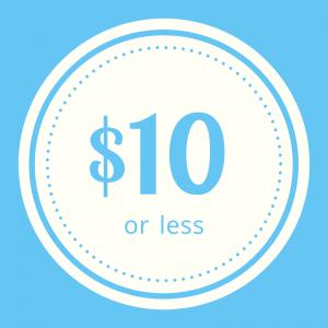 Shop apparel $10 or less