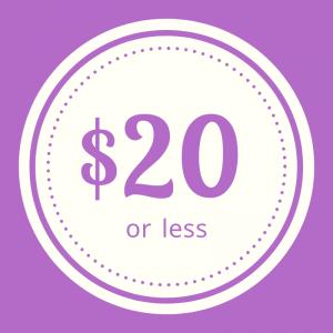 Shop apparel $20 or less