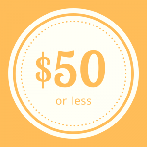 Shop apparel $50 or less
