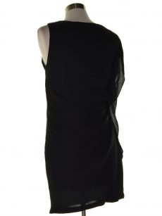 Unbranded Women Size Missing Black Mini Dress