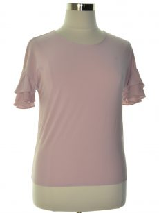INC Women Size Small S Washed Pink Pullover Top