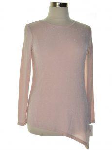 Calvin Klein Women Size Medium M Pink Pullover Top