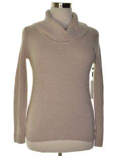 Calvin Klein Women Size Medium M Beige Pullover Sweater