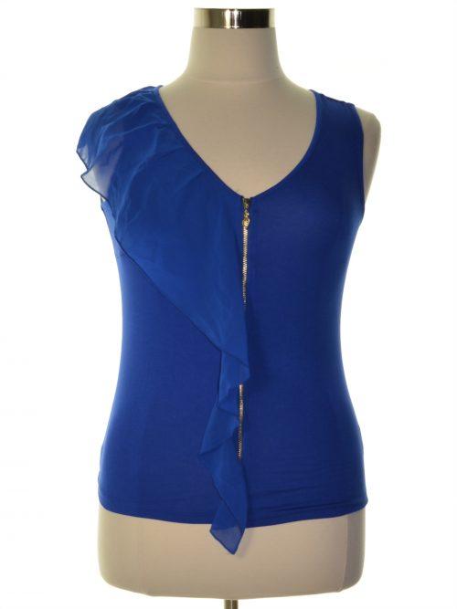 Thalia Sodi Women Size Small S Royal Blue Tank Top