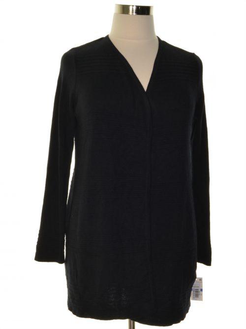 Charter Club Petites Size PXL Black Cardigan Sweater