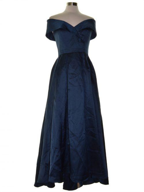 Xscape Women Size 6 Blue Evening Dress