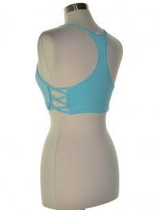 Energie Juniors Size Medium M Aqua Blue Bralette Top
