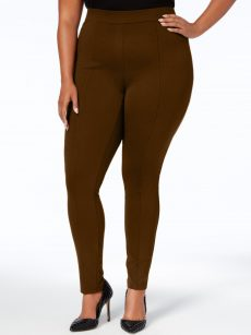 Style & Co. Plus Size 20W Brown Leggings Pants