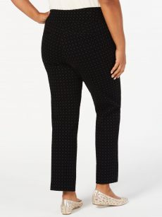 Charter Club Plus Size 24W Black Slim-Leg Pants