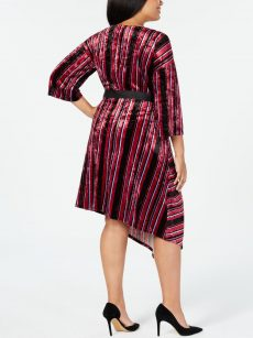 NY Collection Plus Size 3XP Multi Wrap Dress