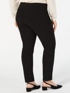Alfani Plus Size 20W Black Skinny-Leg Pants