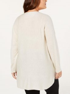INC Plus Size 2X Natural Tunic Sweater
