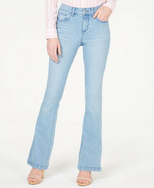 INC Women Size 2 Blue Flare Jeans