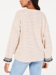 Style & Co. Women Size Large L Pink Sweatshirt Sweater