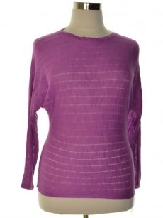 Style & Co. Women Size Large L Purple Sweatshirt Sweater