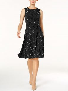 Charter Club Petites Size PP Black Shift Dress