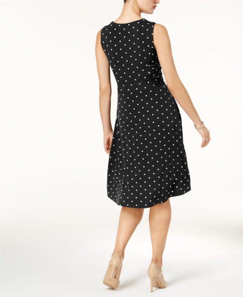 Charter Club Petites Size PP Black Shift Dress