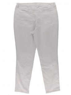 Charter Club Women Size 4 White Ankle Jeans