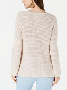Style & Co. Women Size Medium M Beige Pullover Sweater