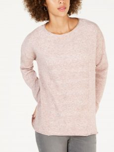 Style & Co. Women Size XXL Pink Pullover Sweater