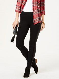 Style & Co. Women Size XS Black Legging