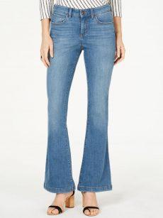 INC Women Size 6 Blue Flare Jeans